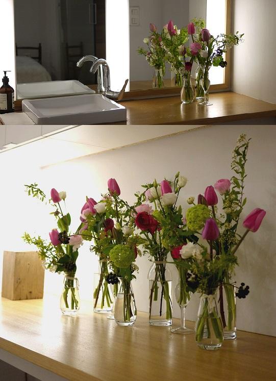 Décoration florale chez Paris MIKI, Paris.