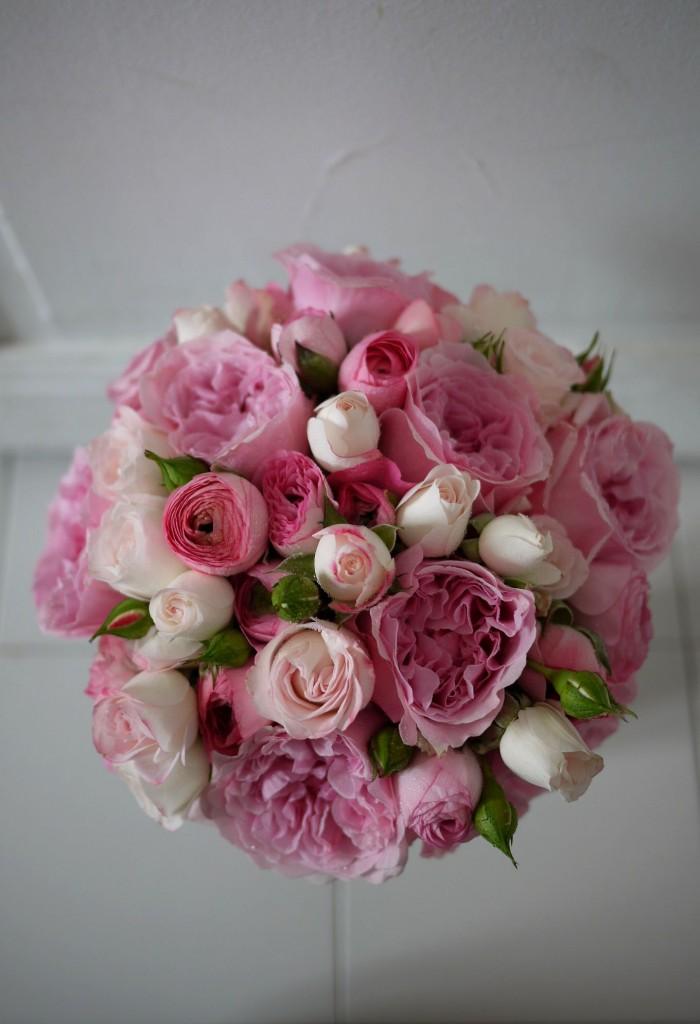 rose, renoncule,