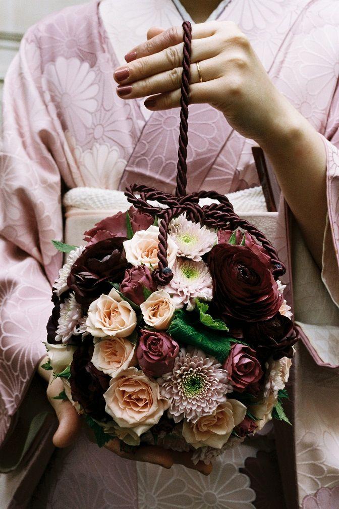 chrysanthème, renoncule, rose