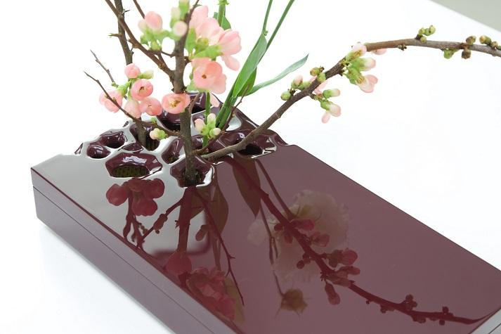 cognassier du japon, lisianthus,