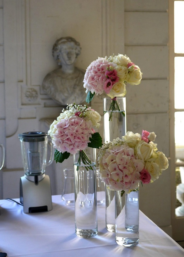 rose, hortensia, lisianthus,