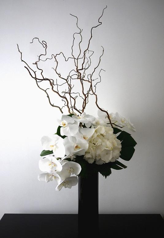 Composition florale n 311 akiko usami - Sapin artificiel haut de gamme ...
