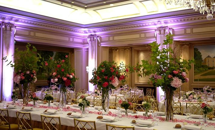 pivoine, rose, hortensia, viburnum,