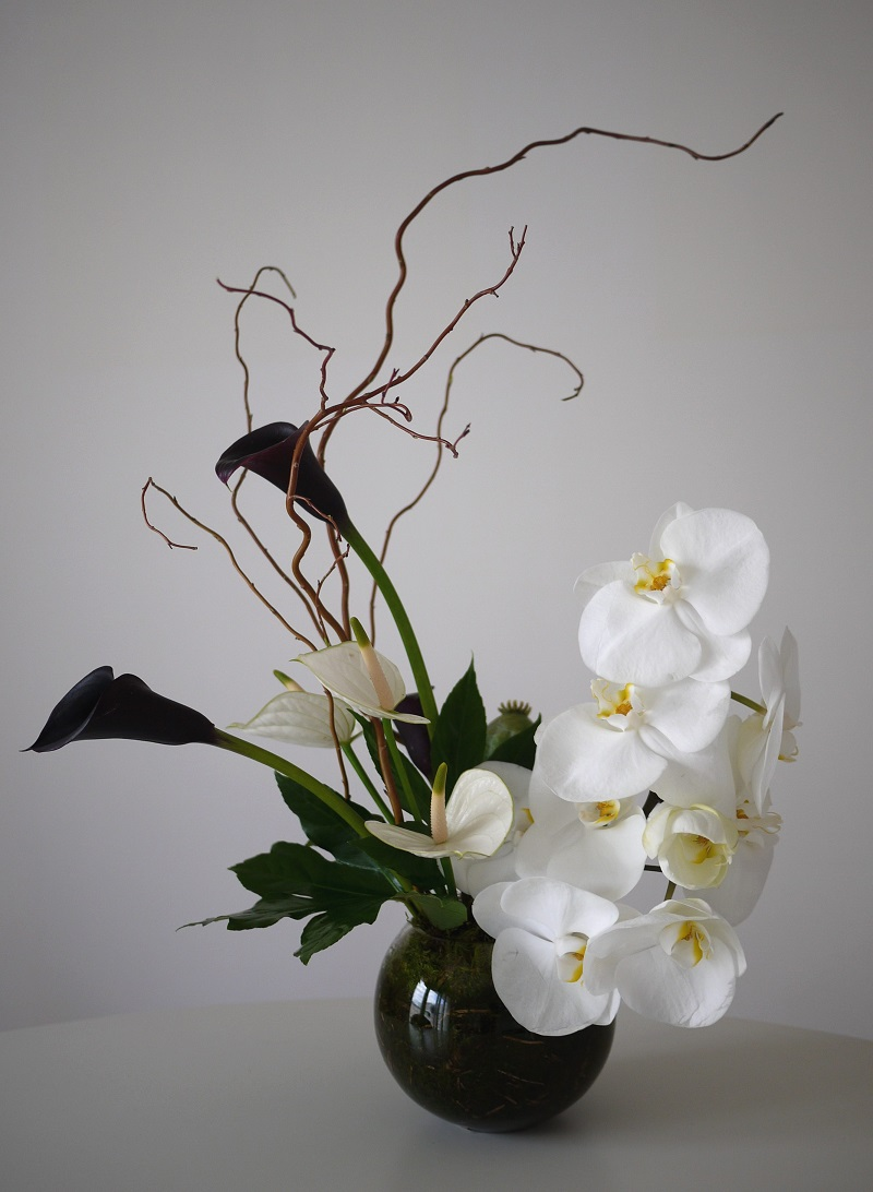 composition florale n 314 akiko usami. Black Bedroom Furniture Sets. Home Design Ideas