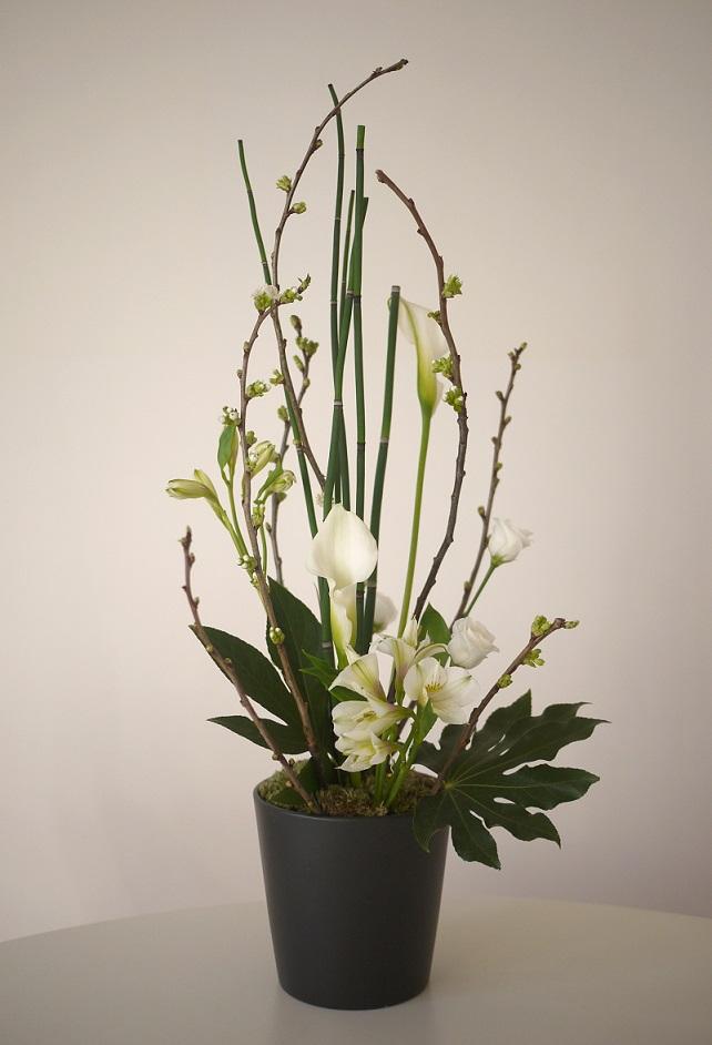composition florale n 333 akiko usami. Black Bedroom Furniture Sets. Home Design Ideas