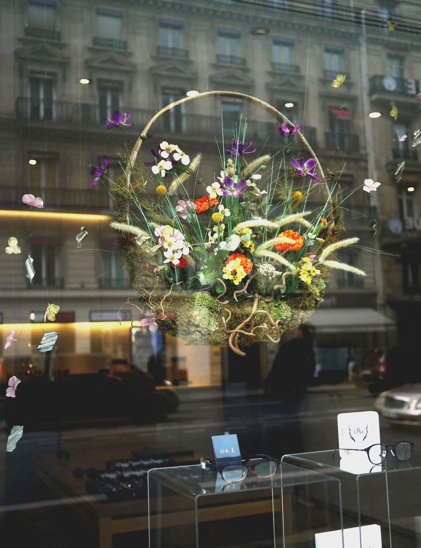 Decoration de vitrine