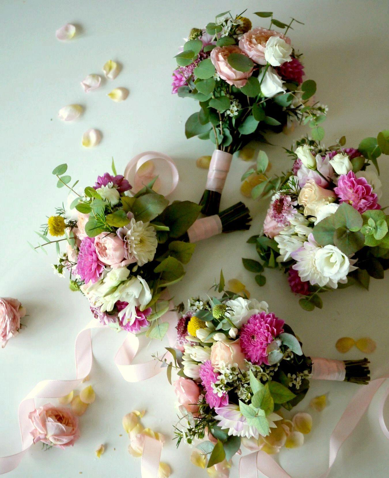 bouquet demoiselle d'honneur mariage