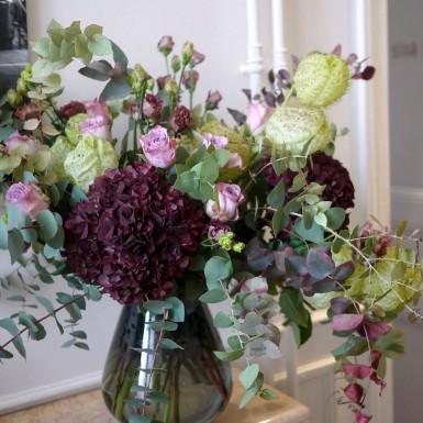 bouquet hortensia